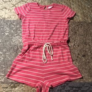 Brand new pink Lily romper